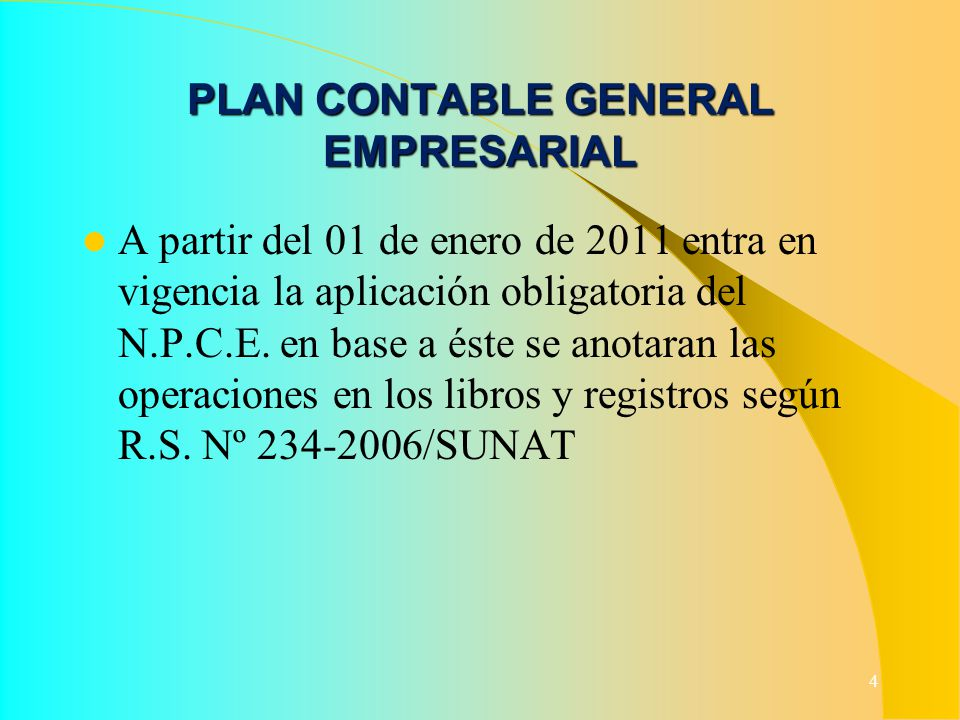 PLAN CONTABLE GENERAL EMPRESARIAL