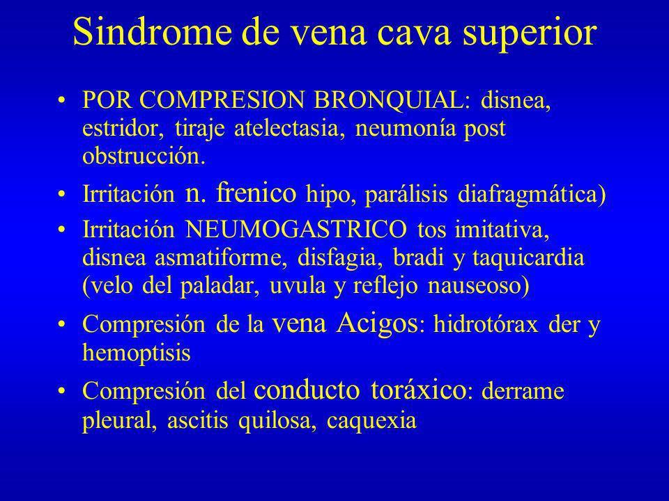Síndrome Mediastínico - ppt descargar