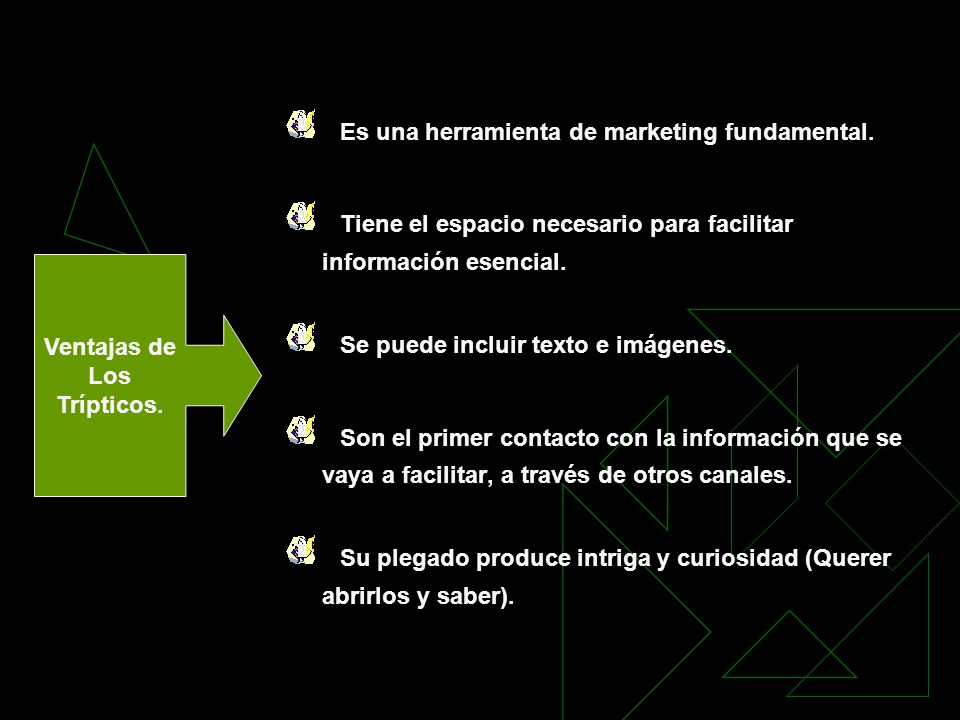 Es una herramienta de marketing fundamental.