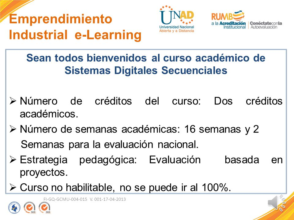 Emprendimiento Industrial e-Learning
