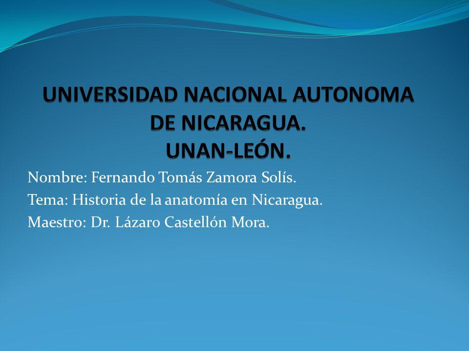 UNIVERSIDAD NACIONAL AUTONOMA DE NICARAGUA. UNAN-LEÓN. - ppt descargar