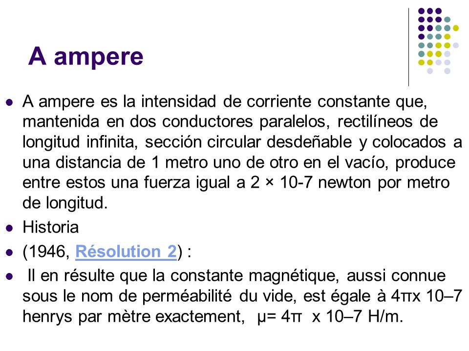 A ampere