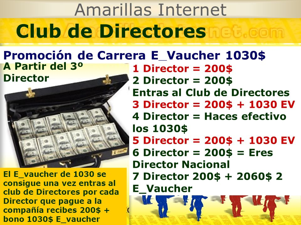 Club de Directores Amarillas Internet