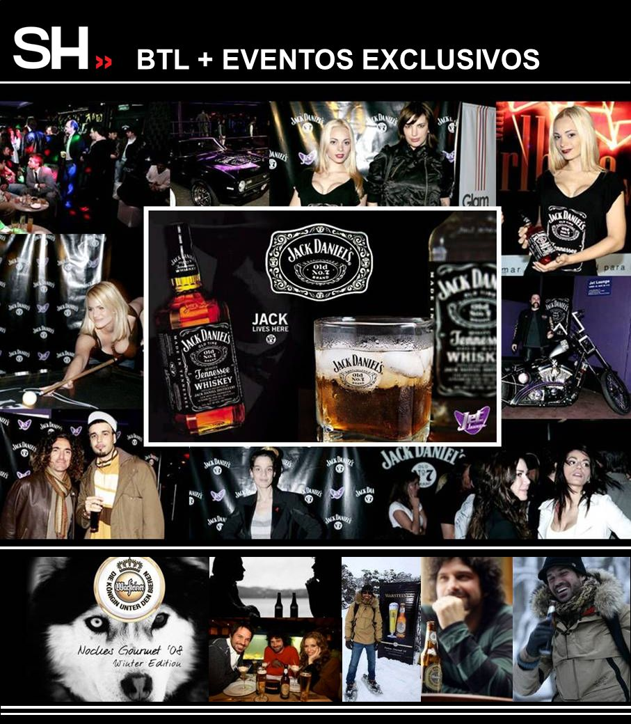 BTL + EVENTOS EXCLUSIVOS