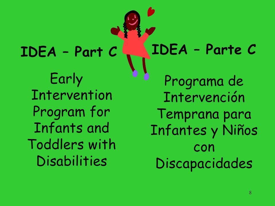 Early Intervention Program for Infants and Toddlers with Disabilities