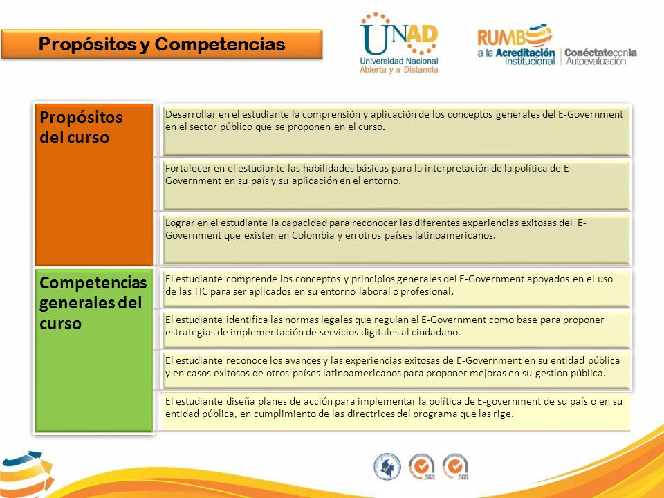 Propósitos y Competencias