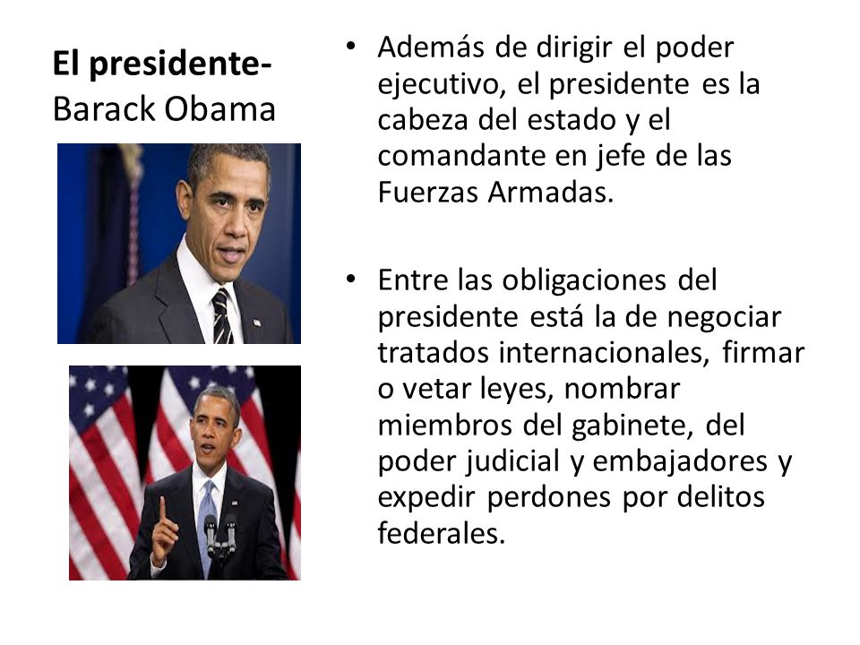El presidente-Barack Obama