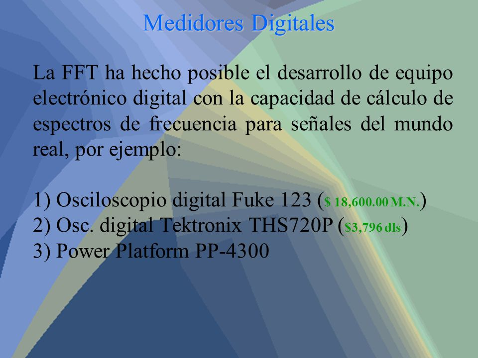 Medidores Digitales