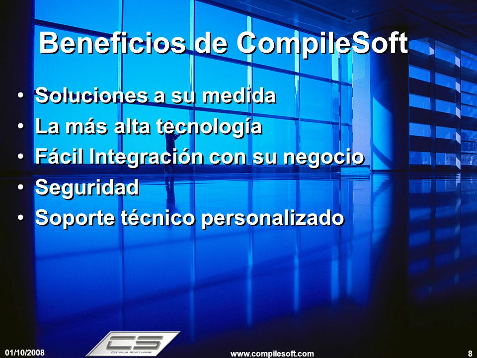 Beneficios de CompileSoft