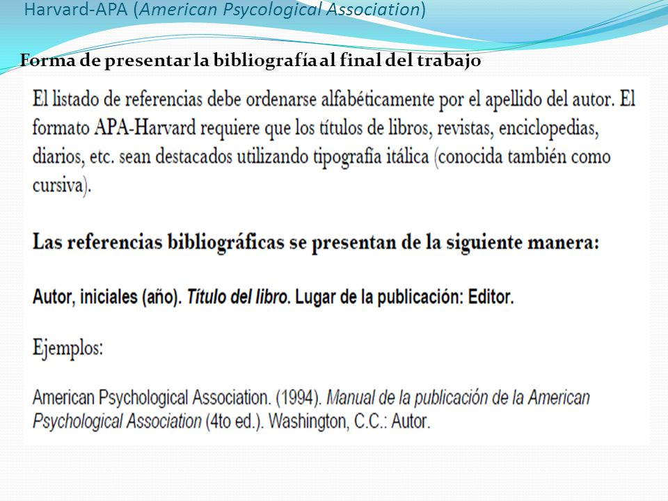Harvard-APA (American Psycological Association)