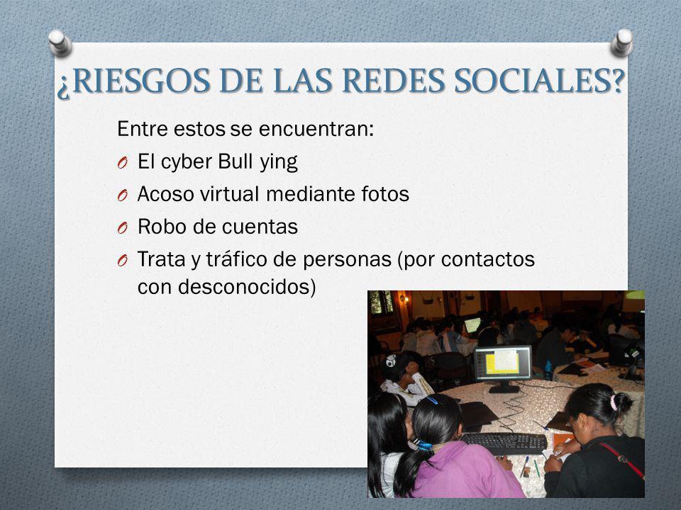 El peligro de las redes sociales  authorstream.