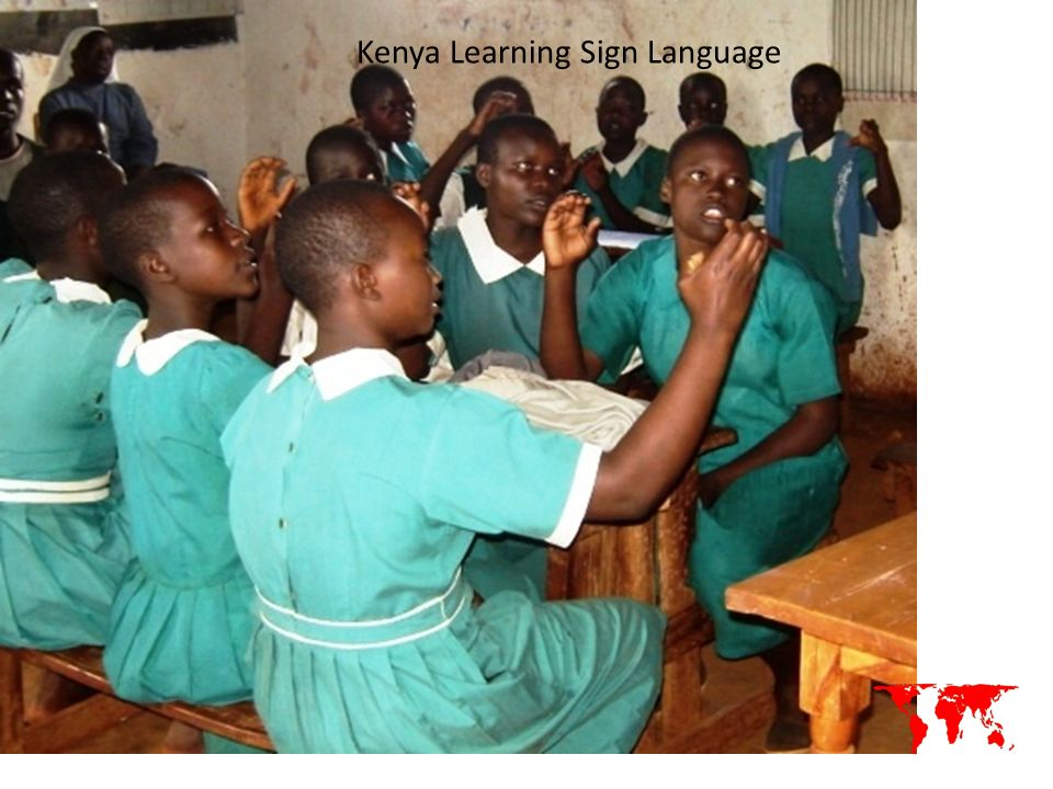 Kenya Learning Sign Language