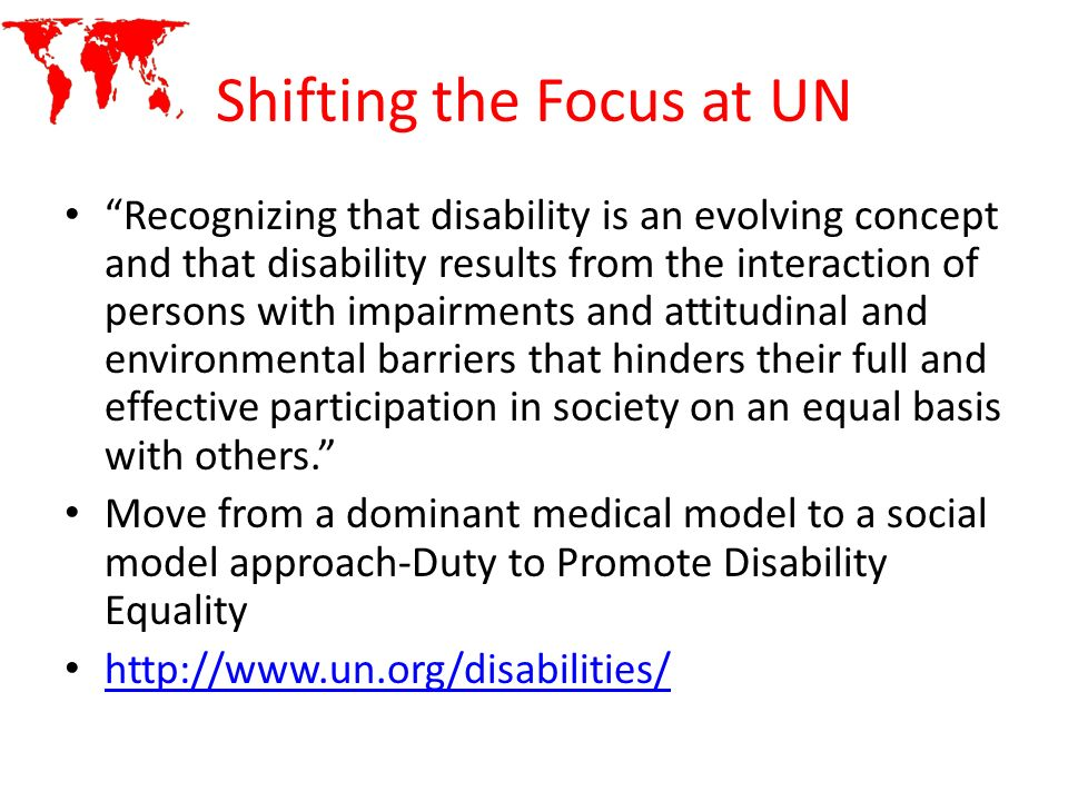 Shifting the Focus at UN