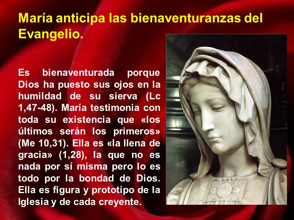 Resultado de imagen de maria humilde sierva del altisimo