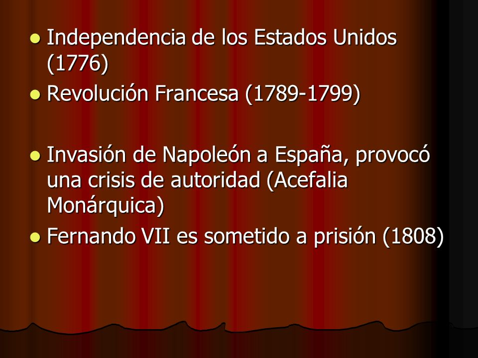 Independencia de los Estados Unidos (1776)