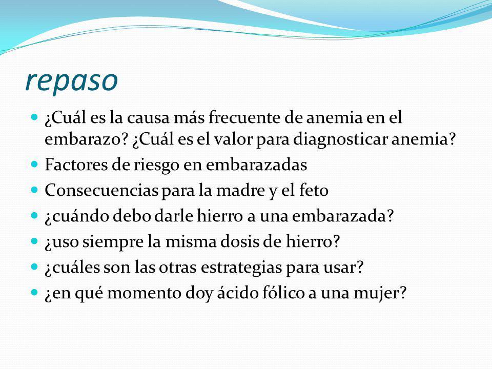 Anemia y Embarazo Dra. M. Carolina Vignera. - ppt descargar
