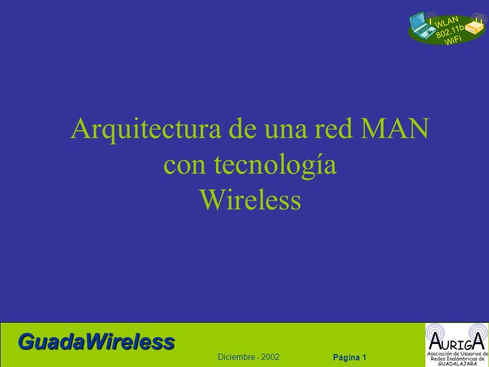 Arquitectura de una red MAN