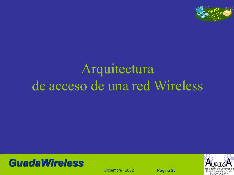 de acceso de una red Wireless