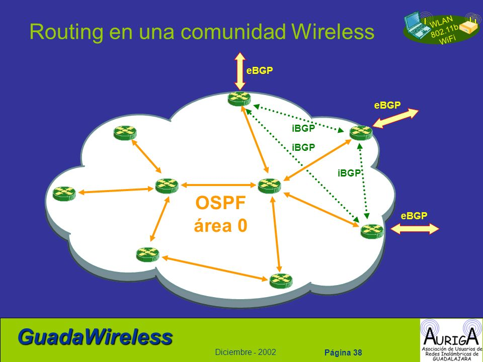 Routing en una comunidad Wireless