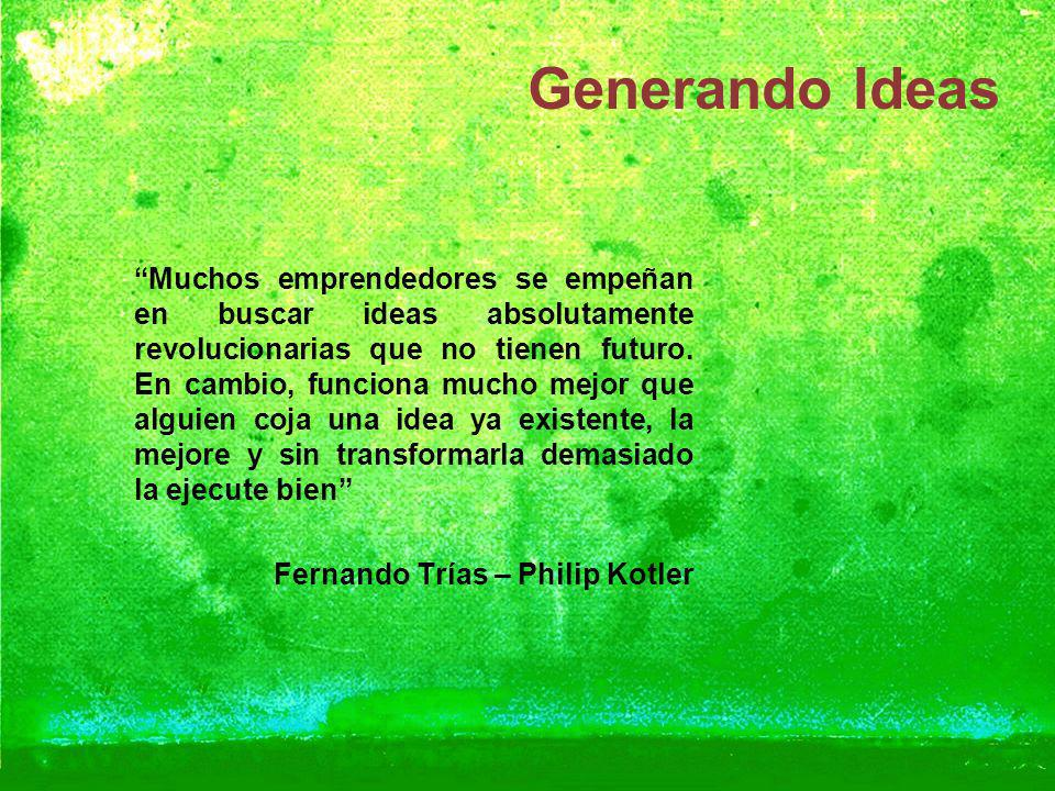 Generando Ideas