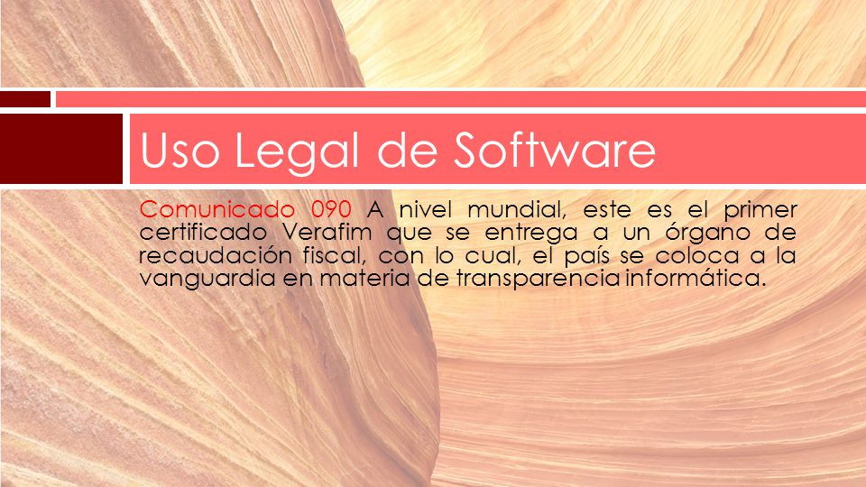 Uso Legal de Software