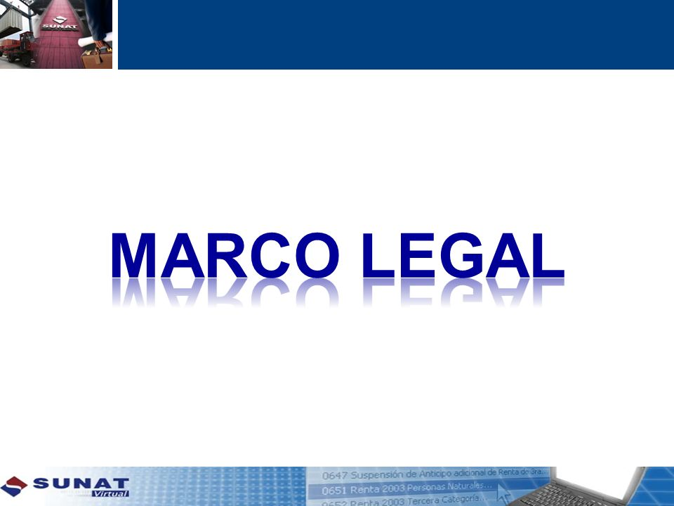 Marco legal 10