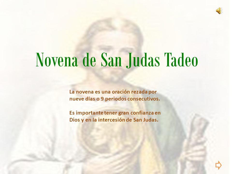Novena De San Judas Tadeo Ppt Descargar
