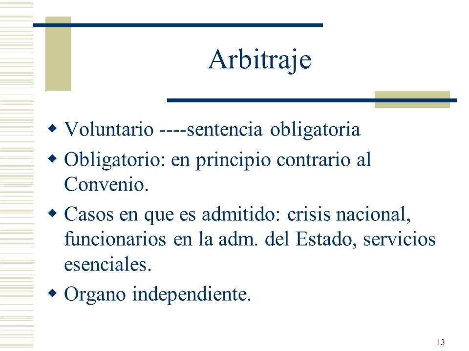 Arbitraje Voluntario ----sentencia obligatoria