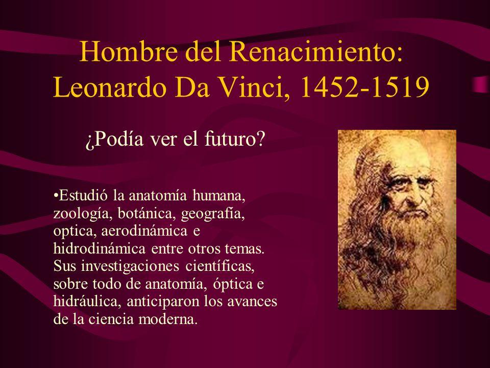 Hombre del Renacimiento: Leonardo Da Vinci, - ppt descargar