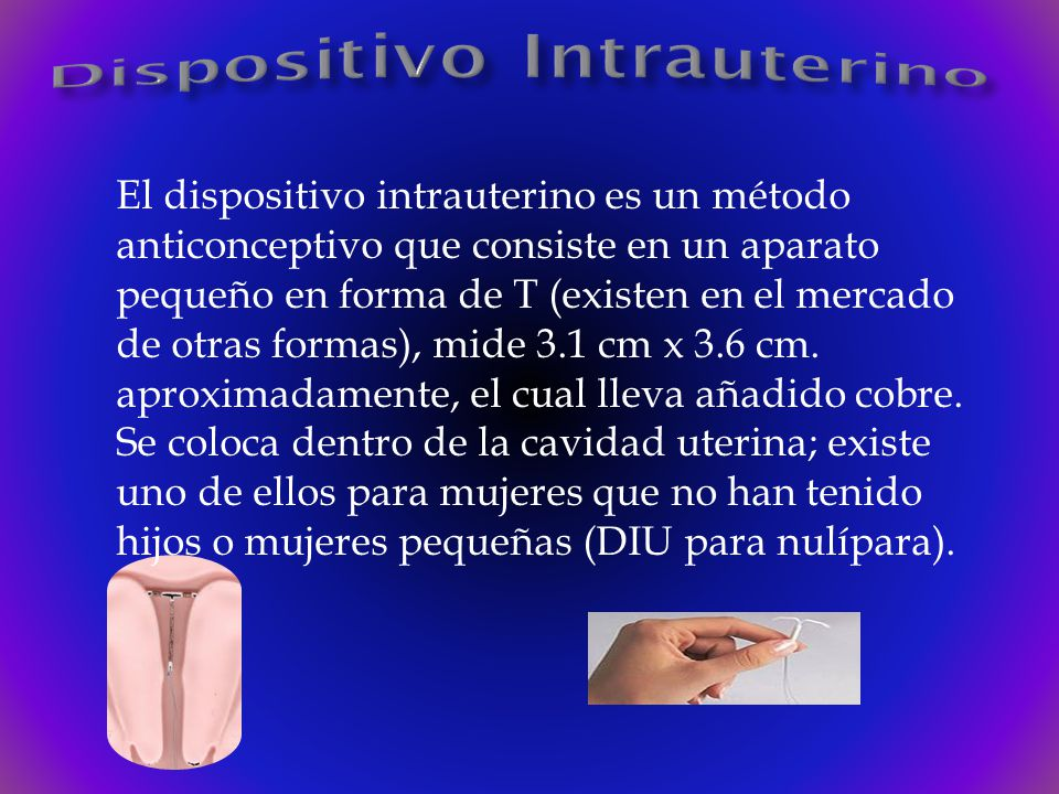Dispositivo Intrauterino