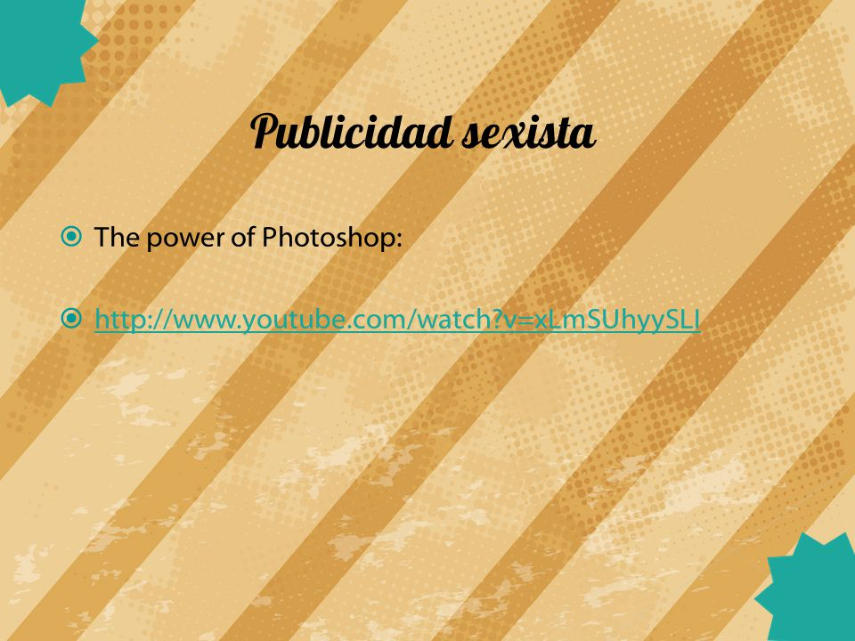 Publicidad sexista The power of Photoshop: