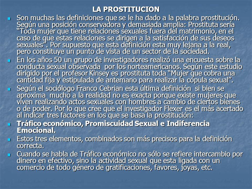 prostitutas de noche favor definicion
