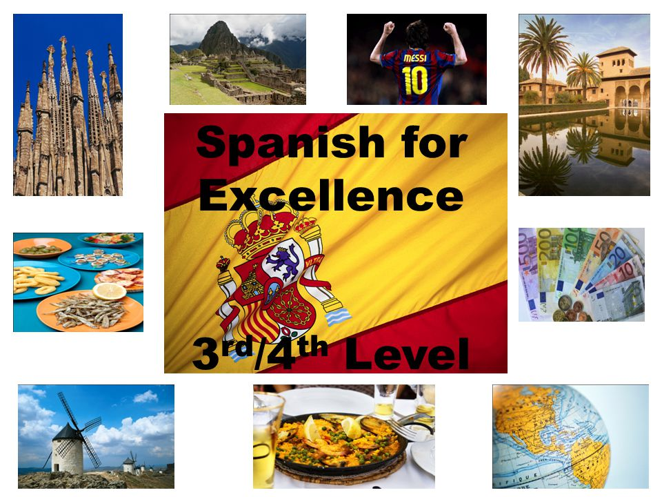 Spanish for Excellence 3rd/4th Level