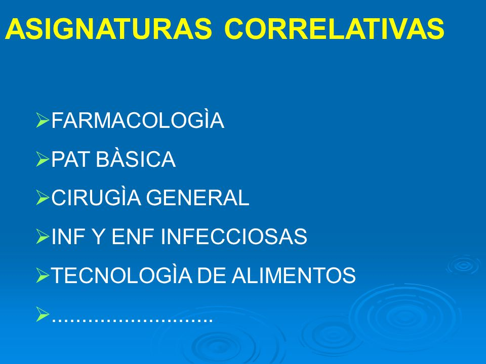 ASIGNATURAS CORRELATIVAS