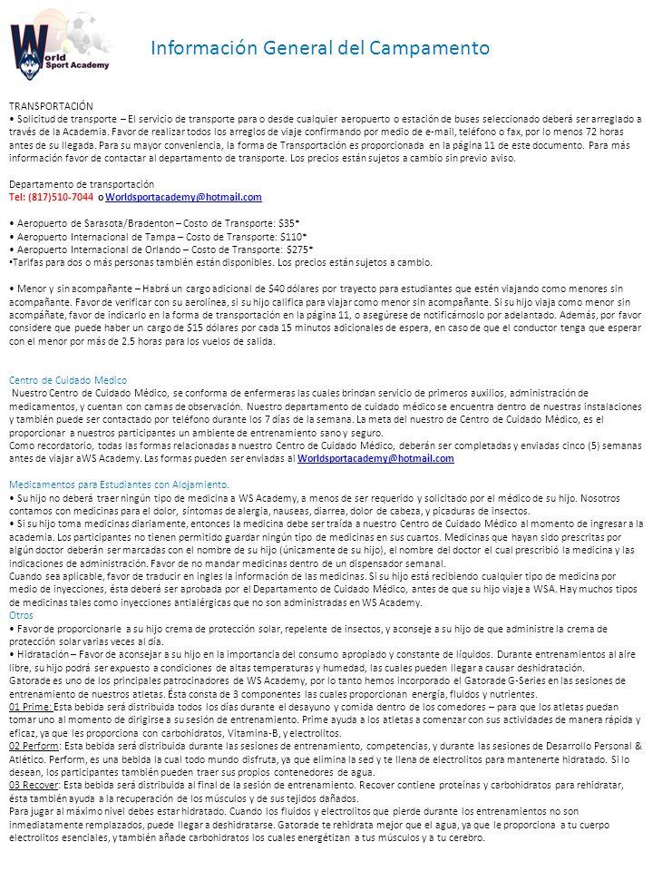 Carta de Bienvenida Saludos de parte de World Sport Academy - ppt ...