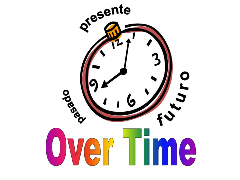 presente pasado futuro Over Time