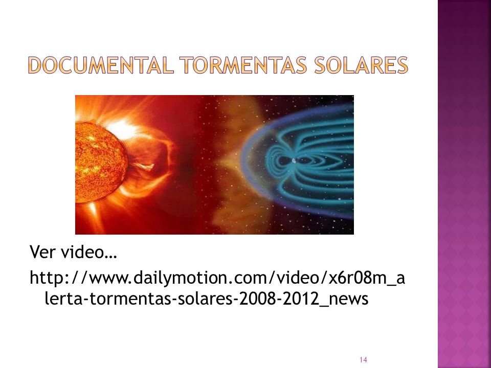 documental tormentas solares
