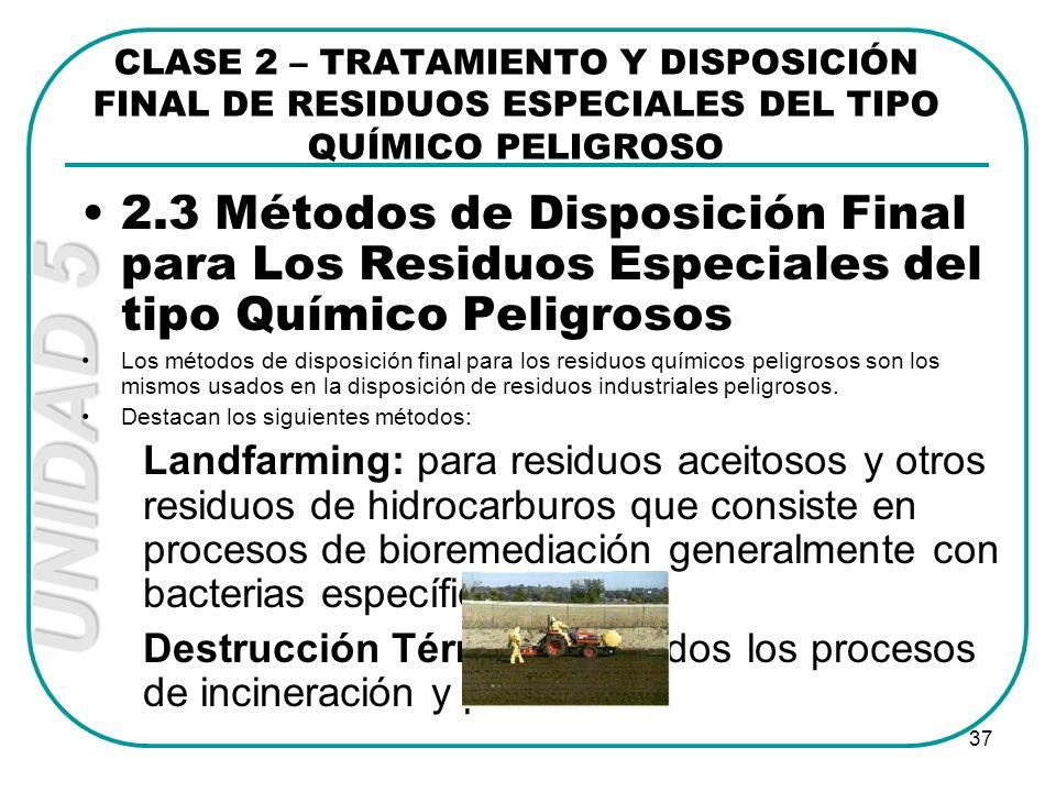 CONTROL DE RIESGOS SANITARIOS Y GESTIÓN ADECUADA DE RESIDUOS DE ...