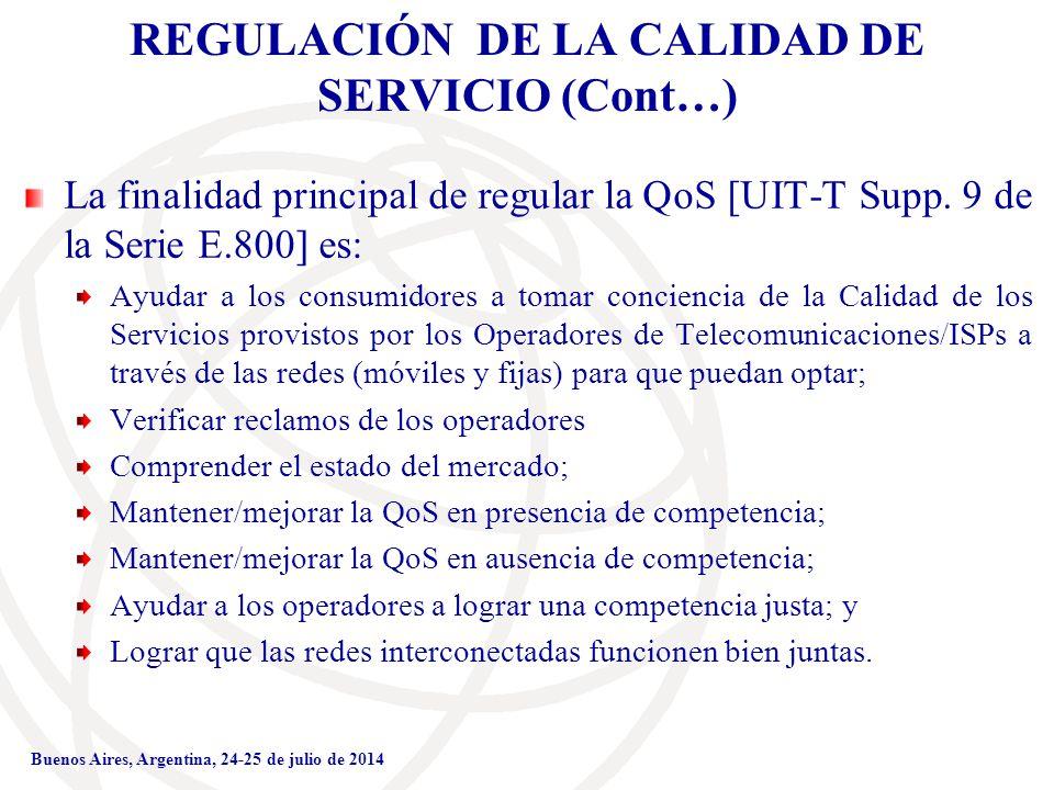 4d35143cad7 Medición de la Calidad de Servicio en las Redes Móviles - ppt descargar