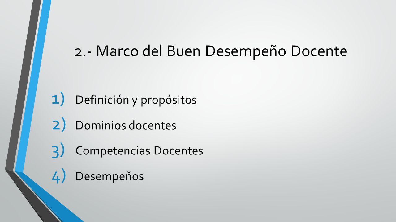 Marco del Buen Desempeño Docente - ppt video online descargar