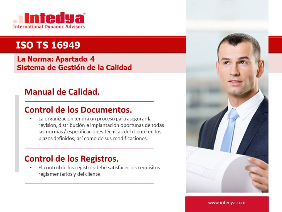 Control de los Documentos.