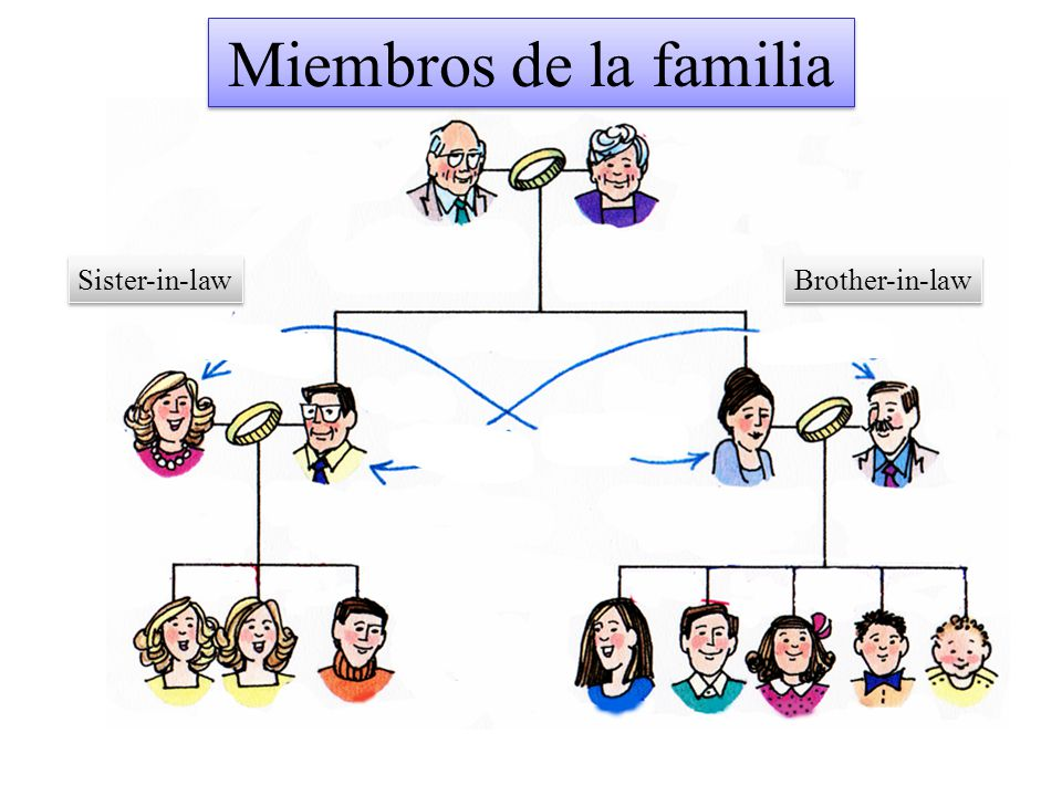 Miembros de la familia Sister-in-law Brother-in-law
