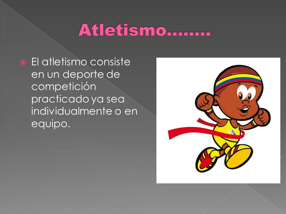 Atletismo……..
