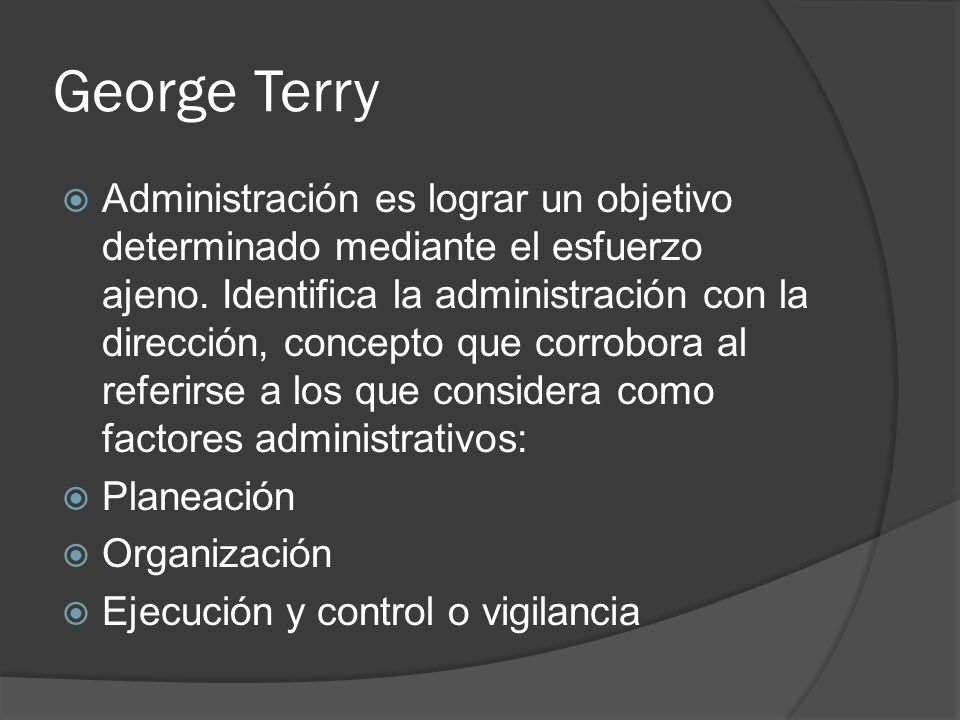 George Terry