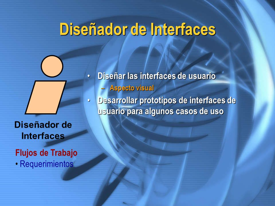 Diseñador de Interfaces