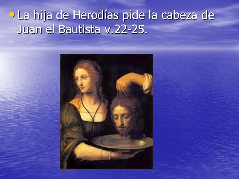 Resultado de imagen para juan el bautista le cortan la cabeza