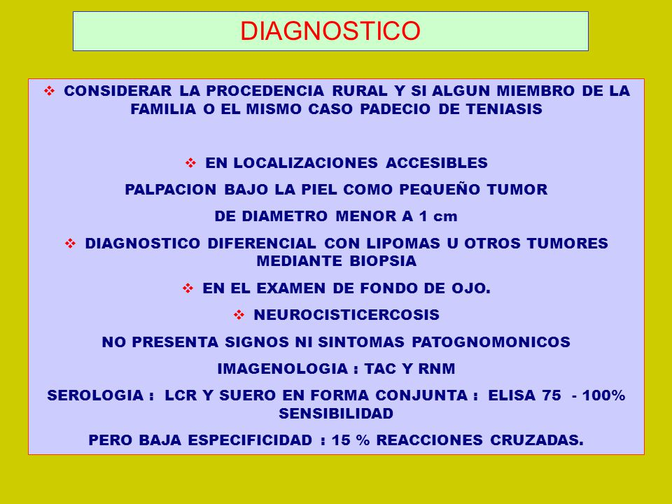 TENIASIS DIAGNOSTICO PDF