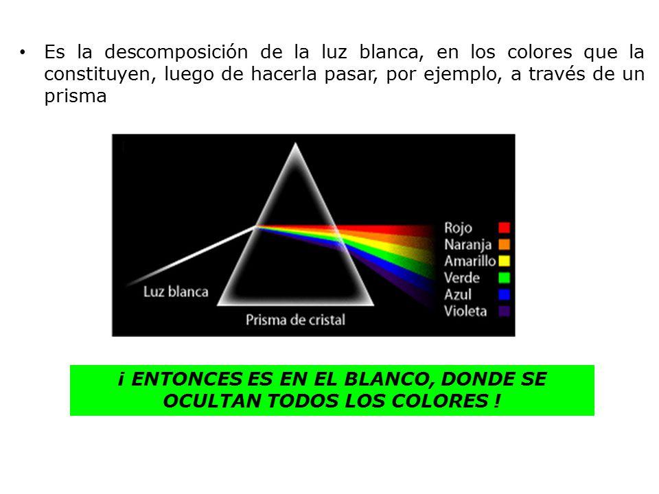 Dispersion De La Luz Y Color Ppt Video Online Descargar