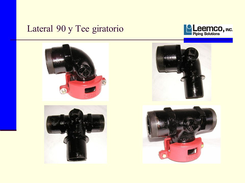 Lateral 90 y Tee giratorio
