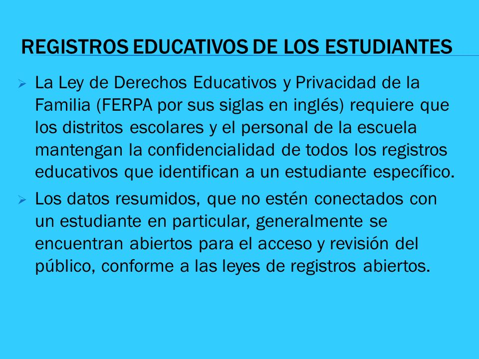 REGISTROS EDUCATIVOS DE LOS ESTUDIANTES